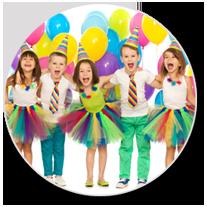 Kindergeburtstag feiern in der Tanzschule